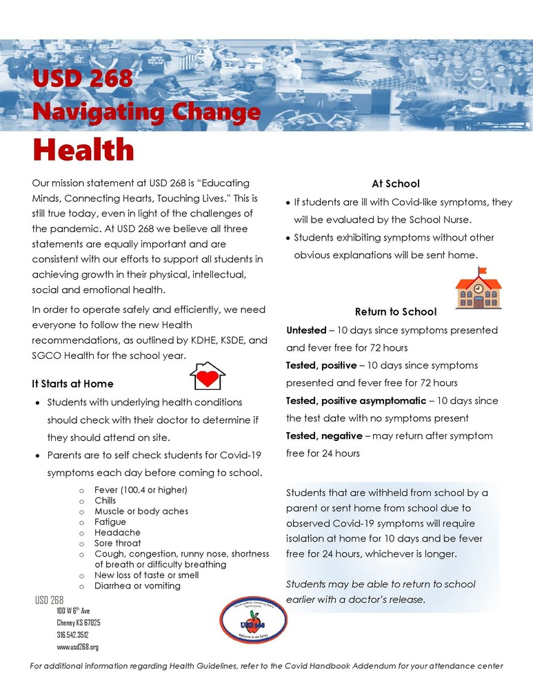 Navigating Change - Student Health