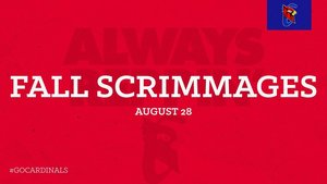Fall Scrimmages Altered